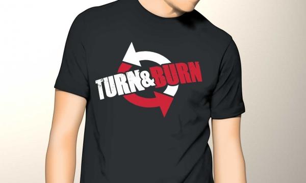 Turn & Burn logo